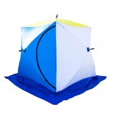 Зимняя палатка Стэк Куб-3 трехслойная дышащая