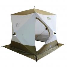 Зимняя палатка Куб Следопыт Premium 3-х местная